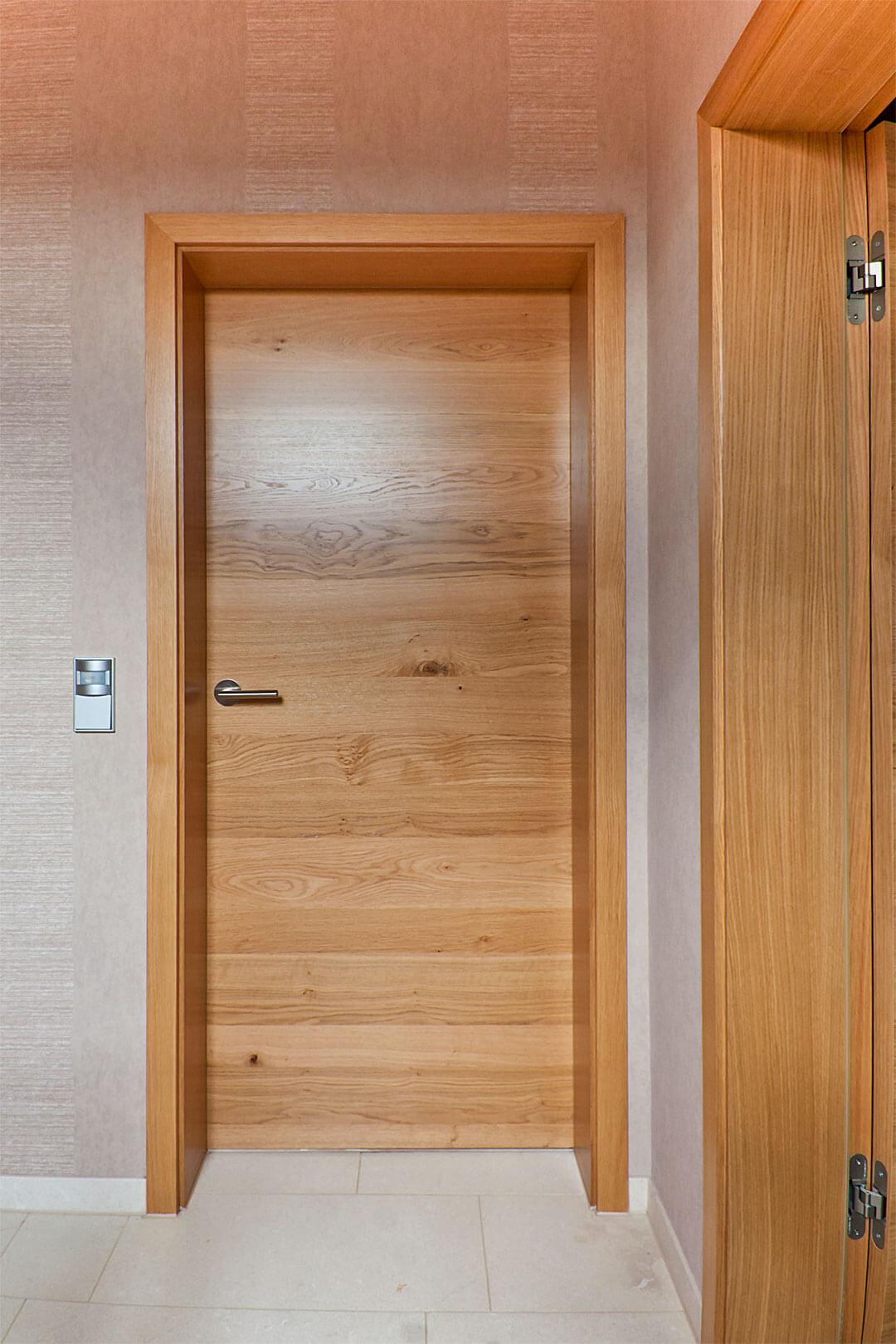 Zimmertür Eiche furniert