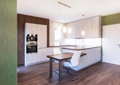 Küche Stahl- & Betonoptik