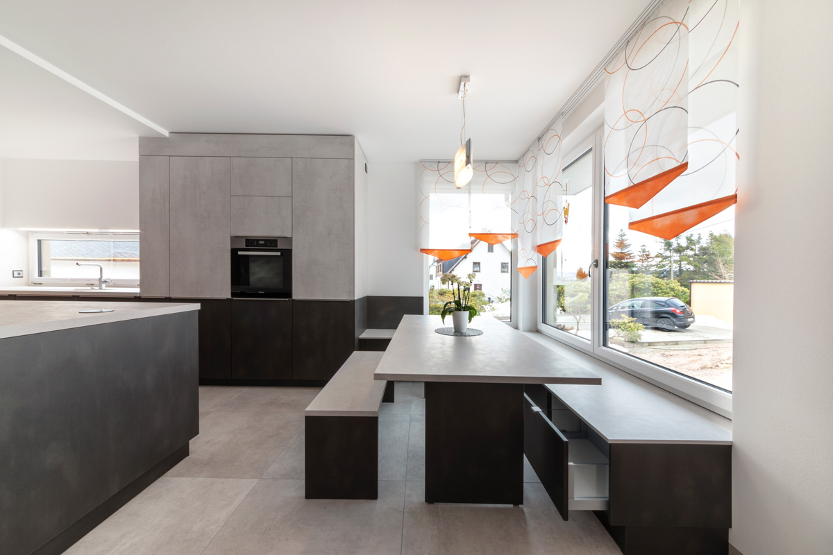 LEICHT®-Küche, Programmkombi IKONO und MINERA
